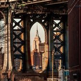 Manhattan Bridge, DUMBO, Brooklyn.
