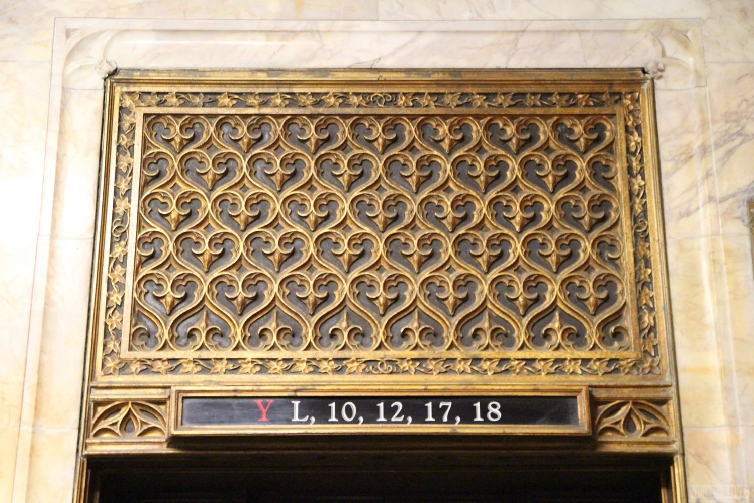 Woolworth Building Lobby and Basement Tour 94
