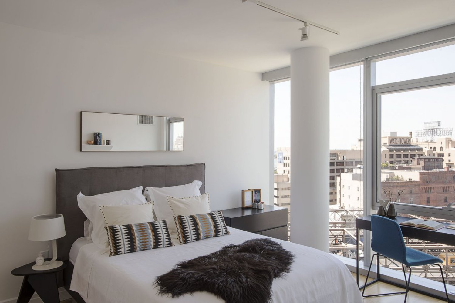 A one-bedroom unit like this might start at $3,498 a month, but monthly rent could go much higher depending on the view.