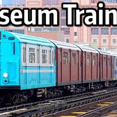 "⁴ᴷ Spring 2018 ""Train of Many Colors"" Museum Train Action"