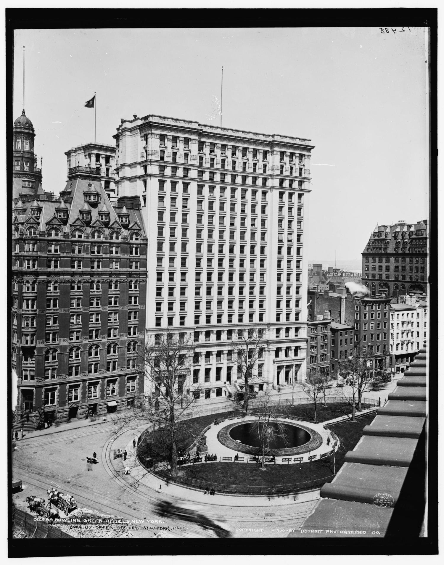 Bowling Green, New York, New York, ca. 1900