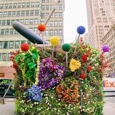 """Needle Threading A Button"", Garment District, Midtown, Manhattan"