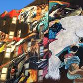 Audubon Terrace Mural. October 2015