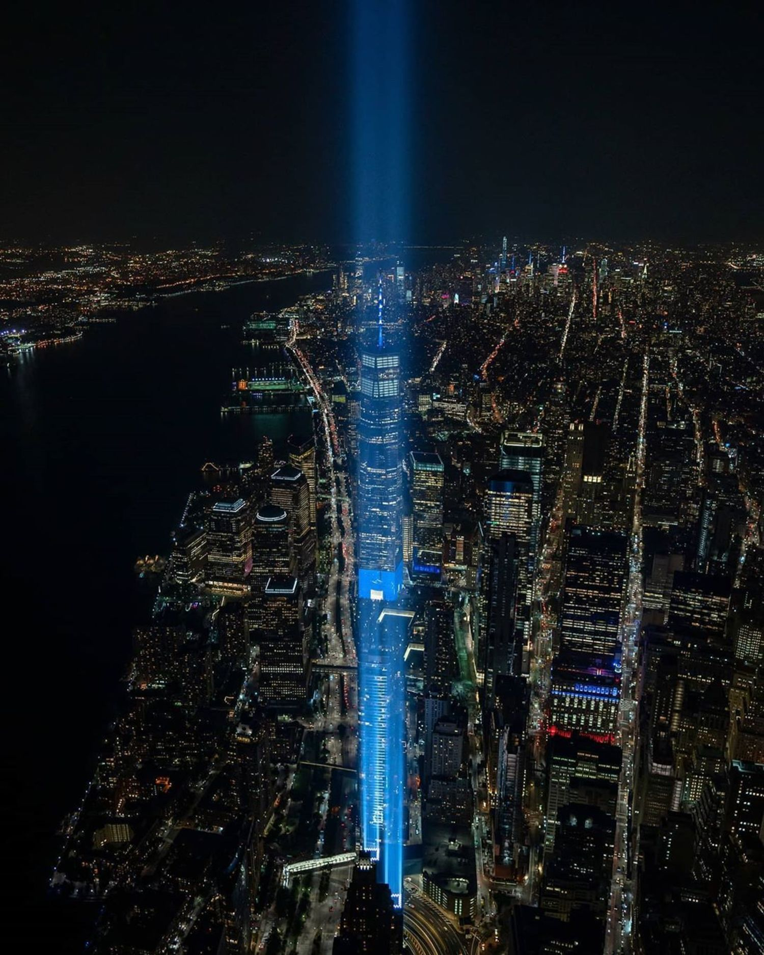 World Trade Center Tribute in Light, Lower Manhattan