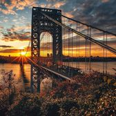 George Washington Bridge, New York, New York. Photo via @beholdingeye #viewingnyc