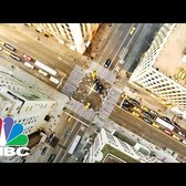 Donald Trump Traffic Jam In Midtown Manhattan | Squawk Box | CNBC