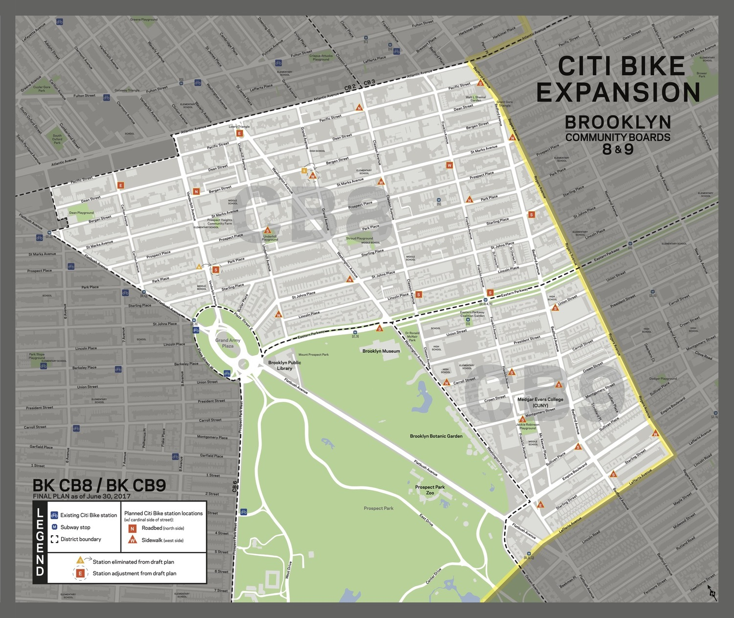 Citi Bike Expansion to Prospect Heights, Crown Heights and Prospect-Lefferts Gardens