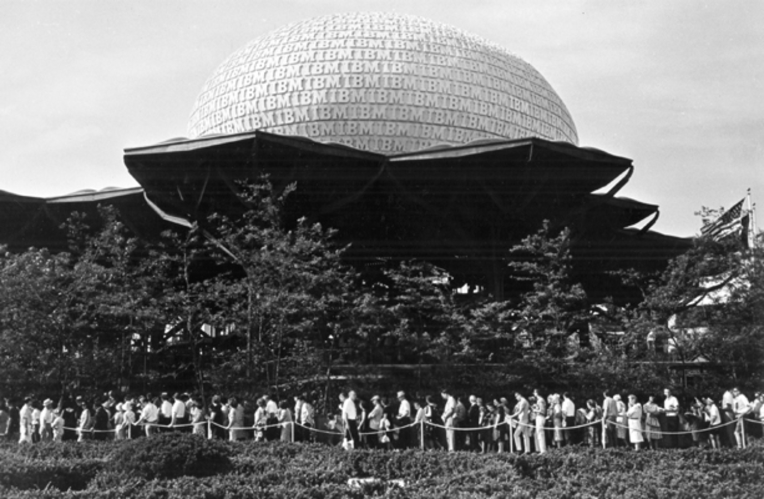 New York World's Fair IBM Pavilion, 1964. Courtesy of IBM Corporation Archives.