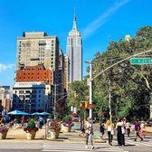 Flatiron Plaza, New York, New York. Photo via @nyc_russ #viewingnyc #newyorkcity #newyork