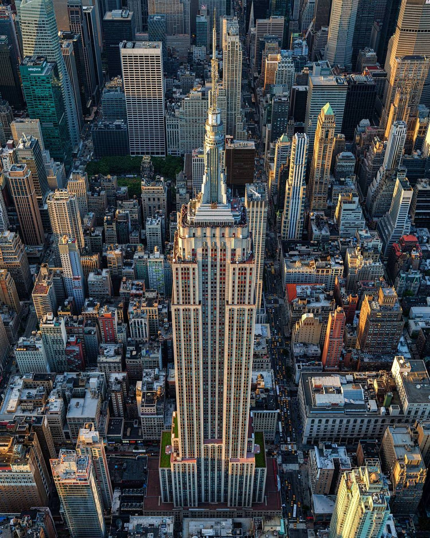 """""""Never gets old shooting this building, my all time favorite, Empire State Building"""""""