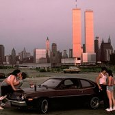 Twin Towers from Lover's Lane, New Jersey, 1983