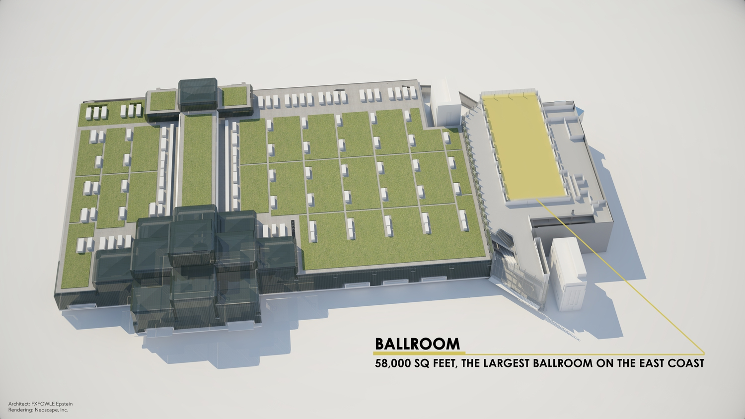 Javits Center Renderings: Ballroom