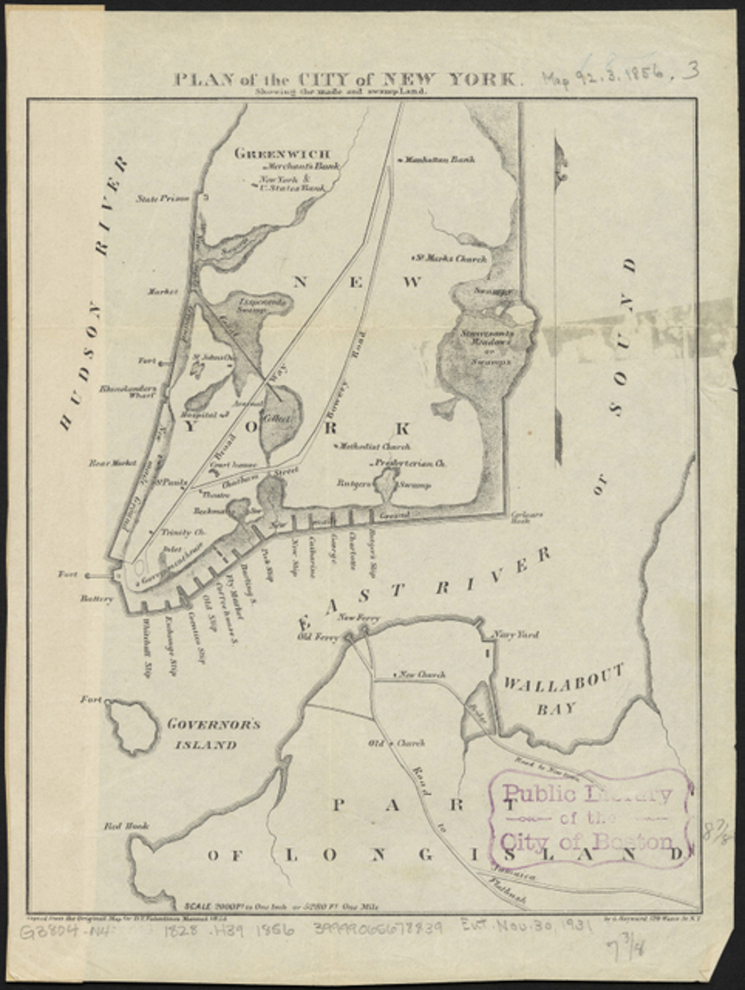 The Slips and Swamps of Early NYC