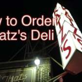 How to Order Correctly at Katz's Deli