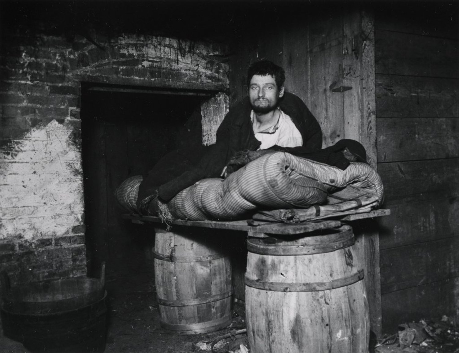 """One of four Pedlars Who Slept in the Celler of 11 Ludlow Street Rear"""