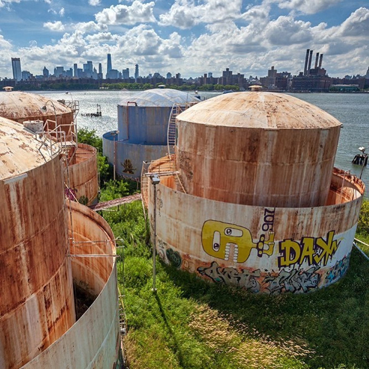 The Tanks at Bushwick Inlet Park
