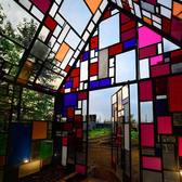Tom Fruin Sculpture, Domino Park, Brooklyn
