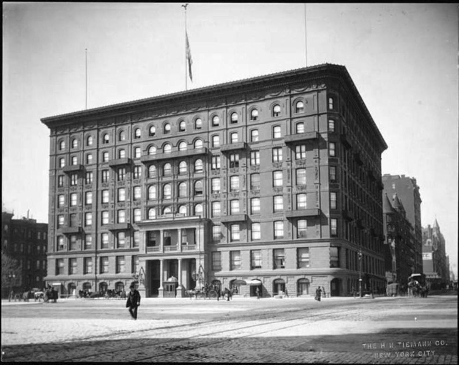 The original Plaza Hotel