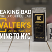 BreakingBad inspired Coffee Lab Walter's Coffee Roastery NYC