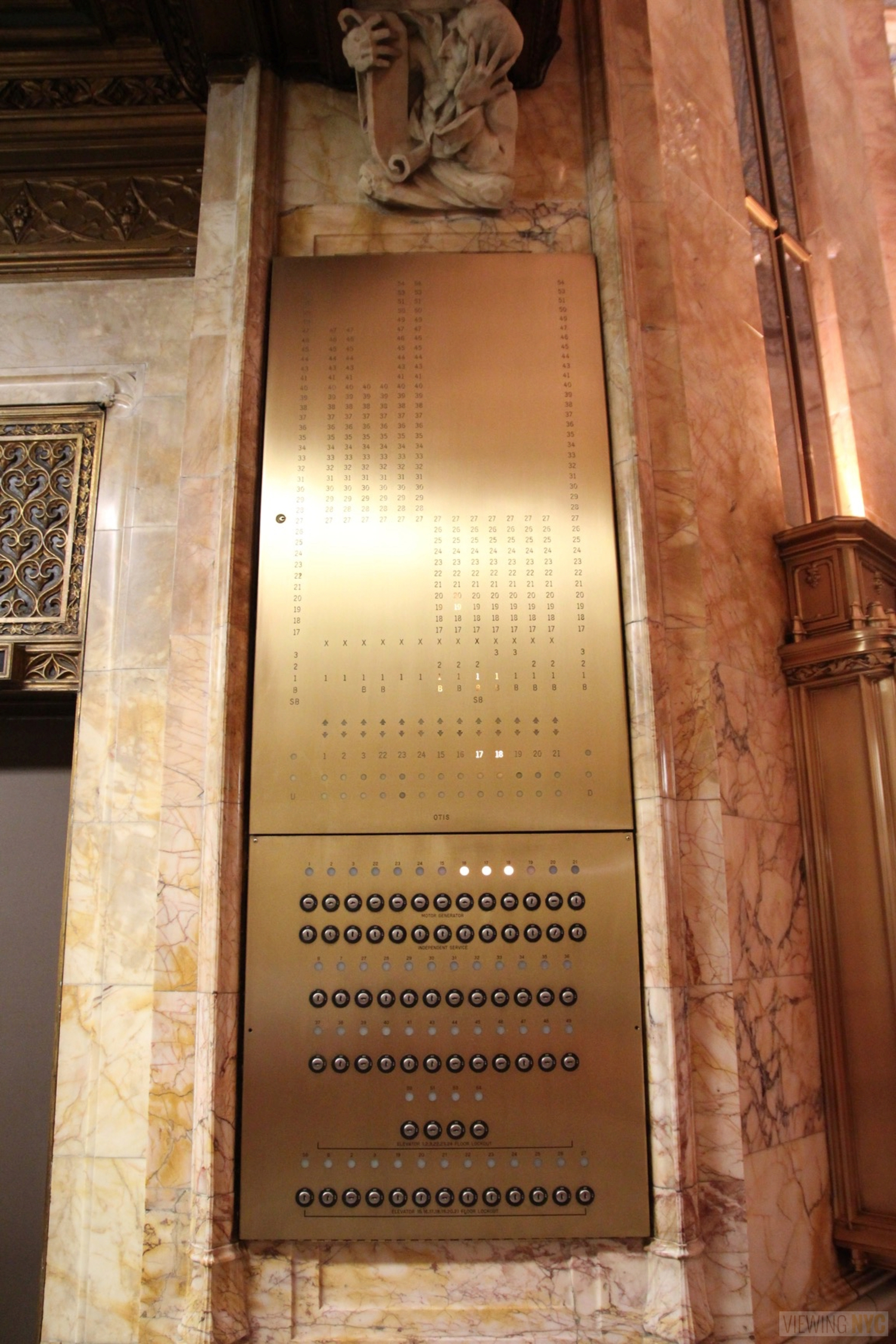 Woolworth Building Lobby and Basement Tour 106