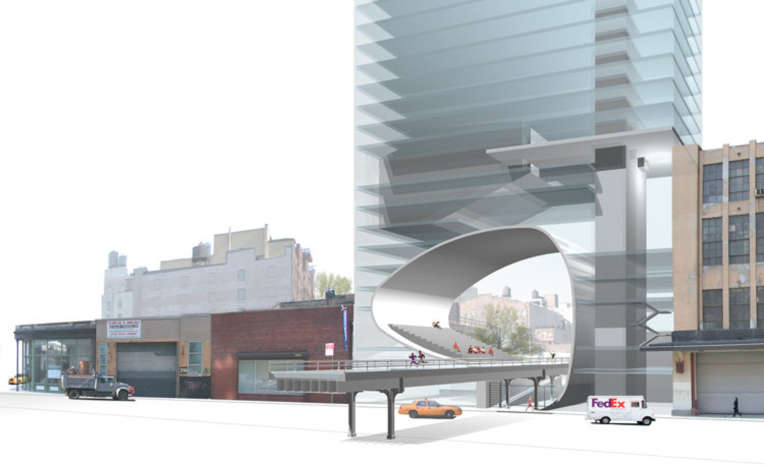 Alternate High Line Proposal from 2003