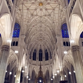 St. Patrick's Cathedral Restored Ceiling
