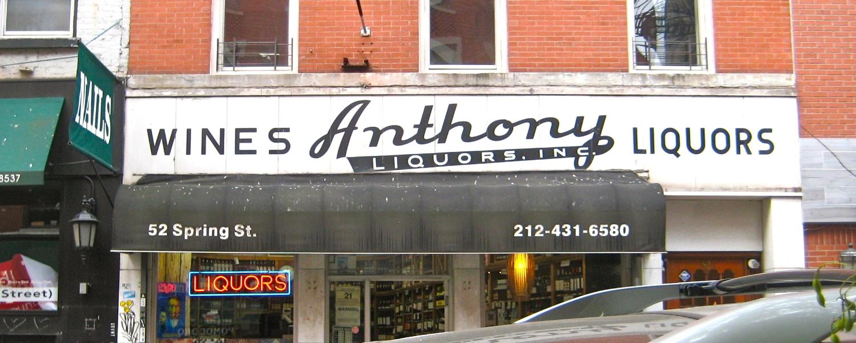 Anthony Liquors, Inc.