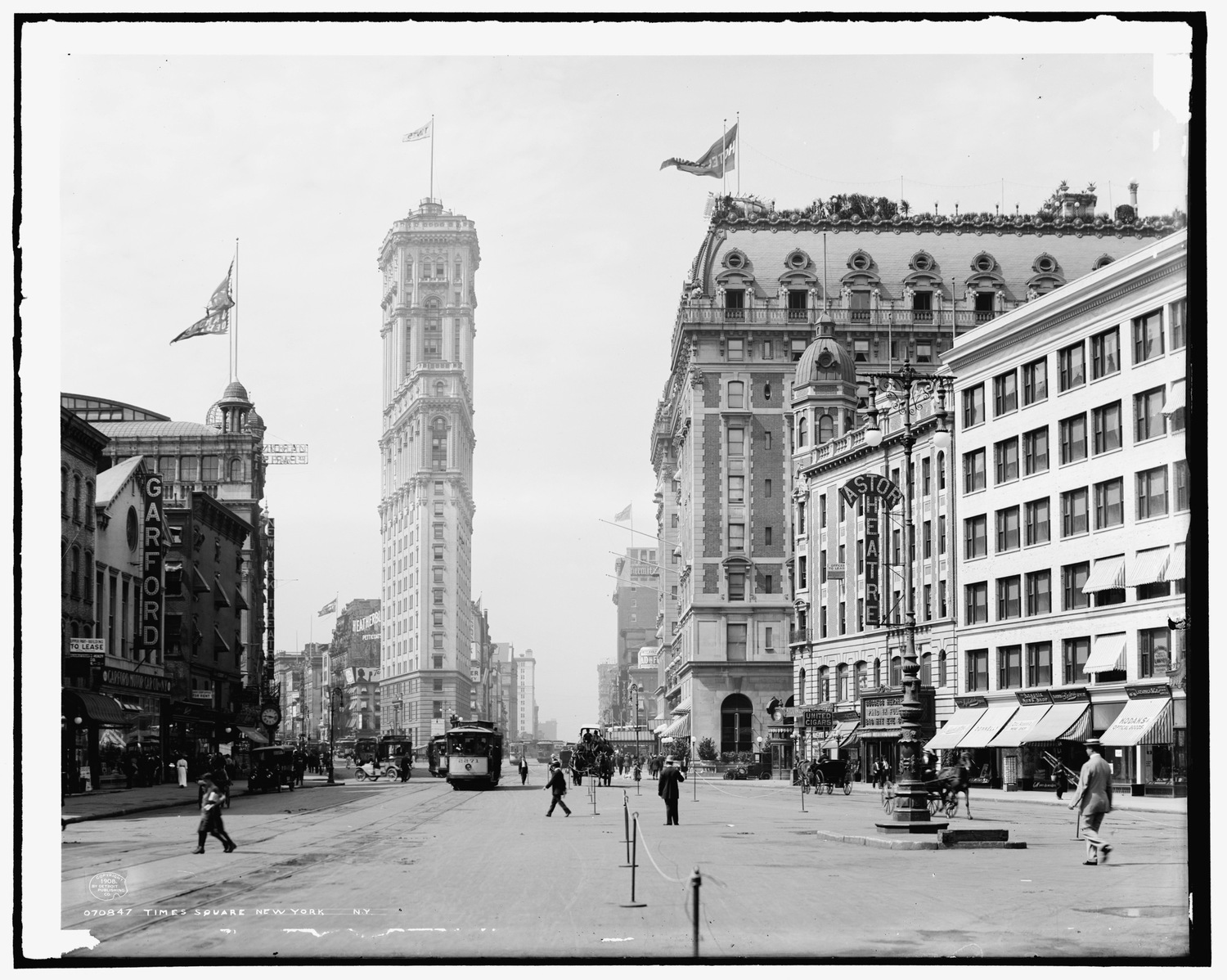 Times Square, New York, N.Y. 1908