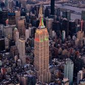 Empire State Building, New York, New York.