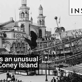 This was an unusual ride at Coney Island's Lunda Park 100 years ago