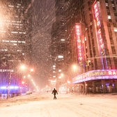 "New York City - Snow - Winter Storm Juno - Radio City | Juno: The first snowstorm of 2015 in New York City.  ---  (Note: My <a href=""http://www.amazon.com/gp/product/1440339589/ref=as_li_tl?ie=UTF8&camp=1789&creative=9325&creativeASIN=1440339589&linkCode=as2&tag=nyththle0e-20&linkId=ER6GYT5FRYNMEPLF"" rel=""nofollow"">New York photography book</a> released worldwide in stores/online recently and has photos similar to this  [full info below])  ---  I have been photographing New York City during snowstorms at night for the past 5 years. When it comes to experiencing <a href=""http://nythroughthelens.com/tagged/snow"" rel=""nofollow"">New York City in the snow</a>, I relish the challenge. The more gusty, snowy, and brutal the storm, the more of a chance that I will be out in it traipsing around New York City with my cameras in tow.  When I heard that the MTA was suspending all transit service (and most vehicles) at 11 pm, I made the decision to take the train up to the Upper East Side prior to 11 pm to deposit myself up there with the intention of walking from the Upper East Side to Times Square and then walking the several miles back to the Lower East Side (whew!!).  The streets were eerily empty.  Emptier than they are usually at night during snowfall. Since there was a ban on all vehicles aside from snow plows and emergency services, there were practically no cars at all on the streets. Even taxis were banned from the streets!  I walked in the middle of avenues and streets that are usually teeming with cars.  There was an eerie sense of calm.  It was magical.   ---  This is part of a post that I posted to my NYC photography blog. If you are curious enough to look at the photos there, here is the link to the post:  <a href=""http://nythroughthelens.com/post/109291619025/new-york-city-snow-winter-storm-juno-i"" rel=""nofollow"">New York City - Winter Storm Juno</a>   ----  * As mentioned above - My New York City coffee table book that released in stores/online worldwide recently.   Tons of information about my <a href=""http://www.amazon.com/gp/product/1440339589/ref=as_li_tl?ie=UTF8&camp=1789&creative=9325&creativeASIN=1440339589&linkCode=as2&tag=nyththle0e-20&linkId=ER6GYT5FRYNMEPLF"" rel=""nofollow"">New York photography book</a> with sample pages (including where to order and what stores are carrying it) here:  <a href=""http://nythroughthelens.com/post/92873566010/ny-through-the-lens-the-book-i-am-super"" rel=""nofollow"">NY Through The Lens: A New York Coffee Table Book</a> ---   View my New York City photography at my website <a href=""http://nythroughthelens.com/"" rel=""nofollow"">NY Through The Lens</a>.  View my Travel photography at my travel blog: <a href=""http://travelinglens.me/"" rel=""nofollow"">Traveling Lens</a>.  Interested in my work and have questions about PR and media? Check out my:  <a href=""http://nythroughthelens.com/about"" rel=""nofollow"">About Page</a> 