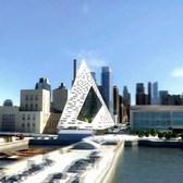 West 57th Street Pyramid Flyover