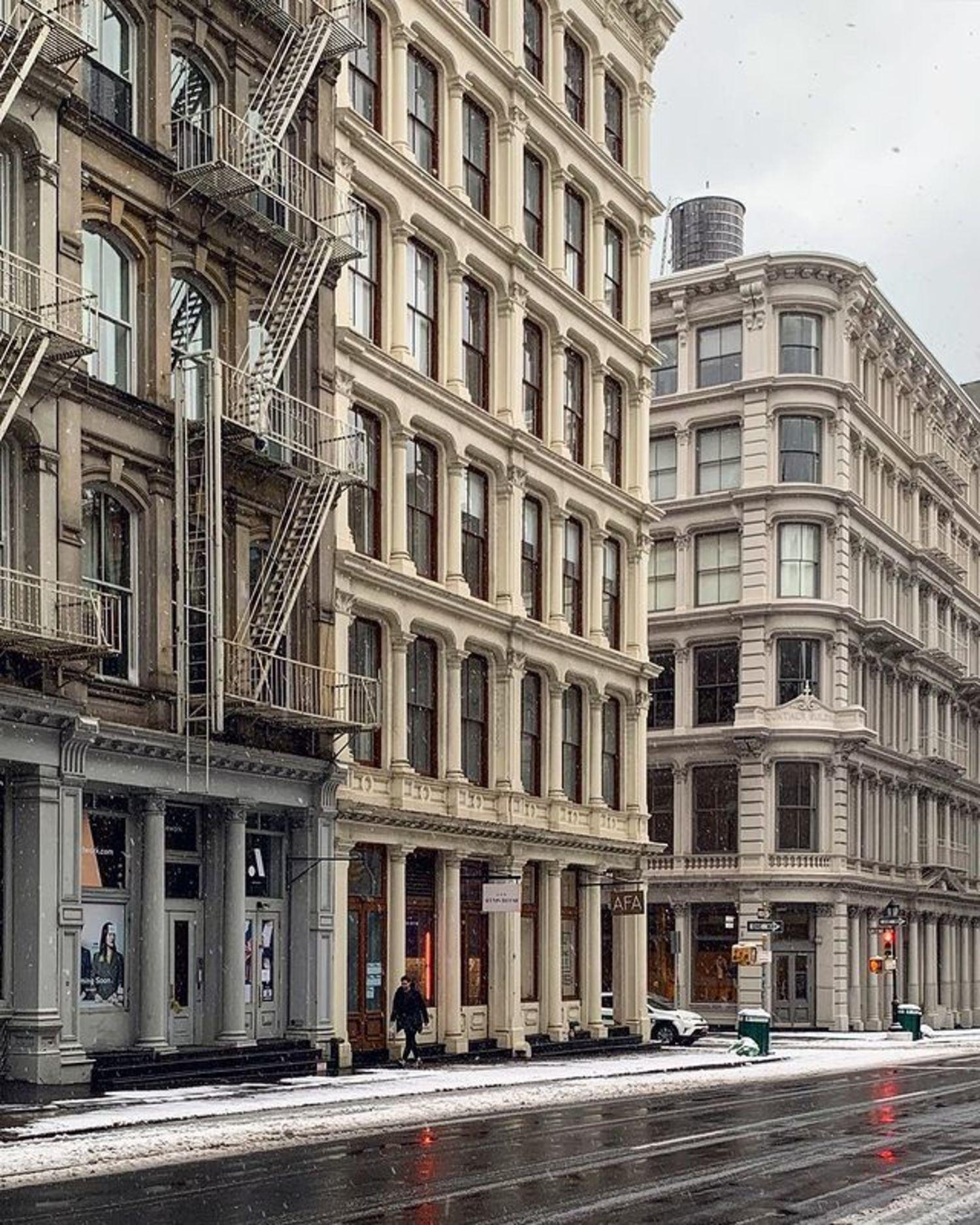 Broome Street and Greene Street, SoHo, Manhattan