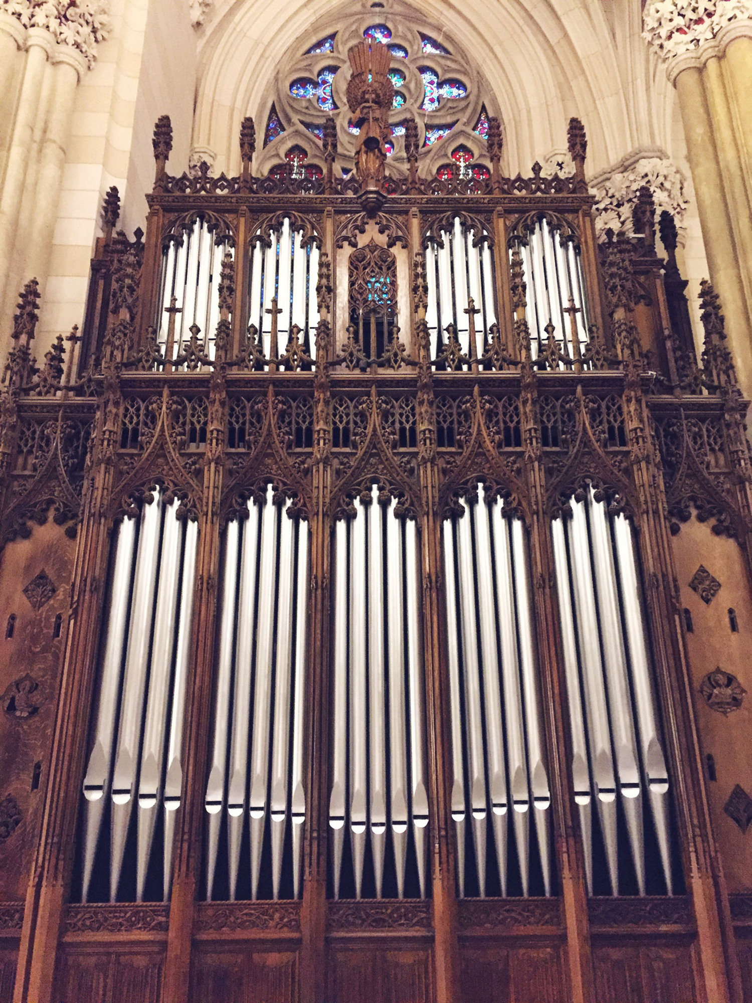 St. Patrick's Cathedral Restored Organ