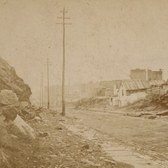 58th Street in Manhattan c\irca 1870s