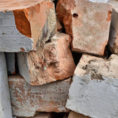 Bricks...... | ....a pile of old.....