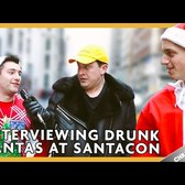 INTERVIEWING DRUNK SANTA | Chris Klemens