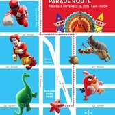 89th Annual Macy's Thanksgiving Day Parade Route