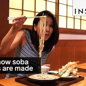 This is how soba noodles are made
