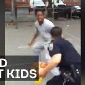 Watch These NYPD Officers Beat Some Kids In New York...At Basketball