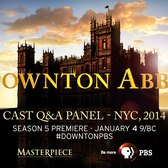 PBS and MASTERPIECE bring you a Downton Abbey Q&A with Fans from NYC ( Dec. 9, 2014)