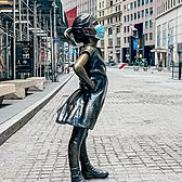 Fearless Girl, Financial District, Manhattan