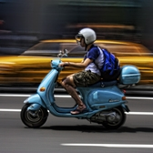 Vespa in NYC