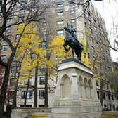 Joan of Arc Monument, Riverside Park, New York City | Equestrian Statue (dedicated 1915), Riverside Drive at 93rd Street, Manhattan NYC