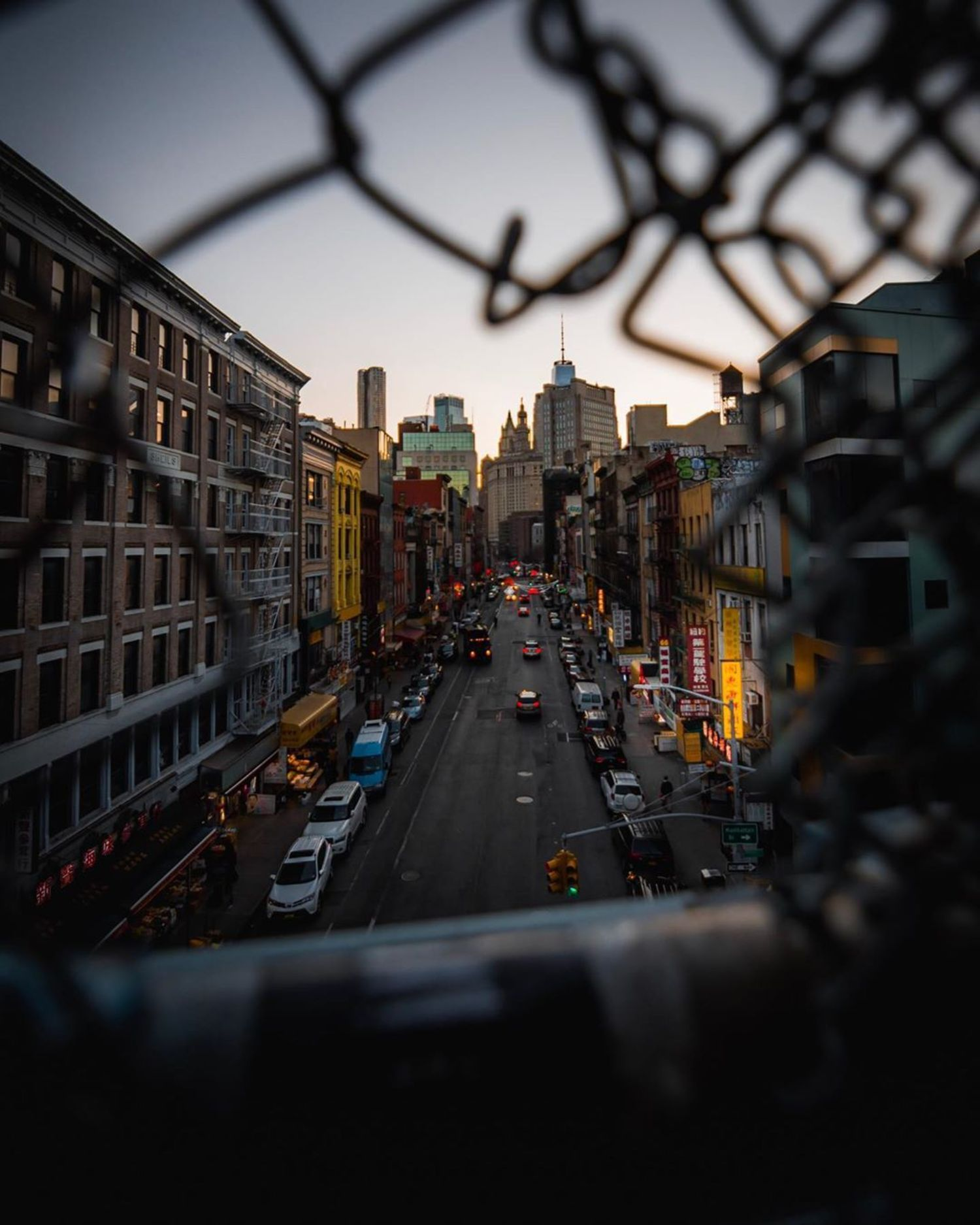 Chinatown from Manhattan Bridge