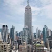Midtown Manhattan. Photo via @melliekr #viewingnyc #newyork #newyorkcity #nyc #empirestatebuilding