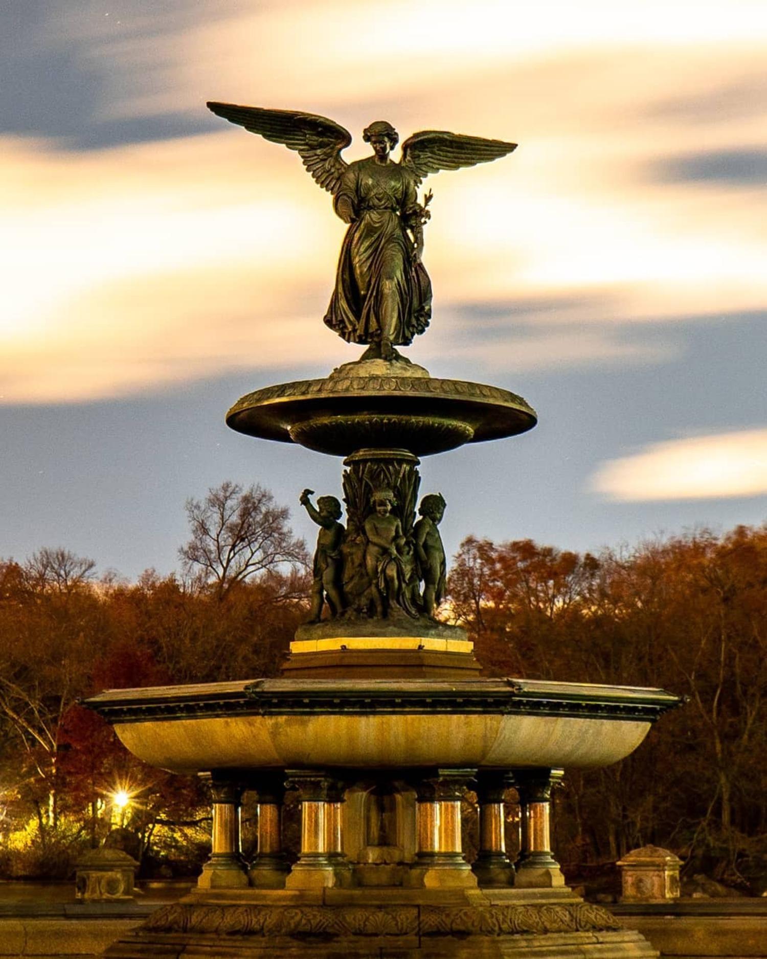 Bethesda Fountain, Central Park, Manhattan