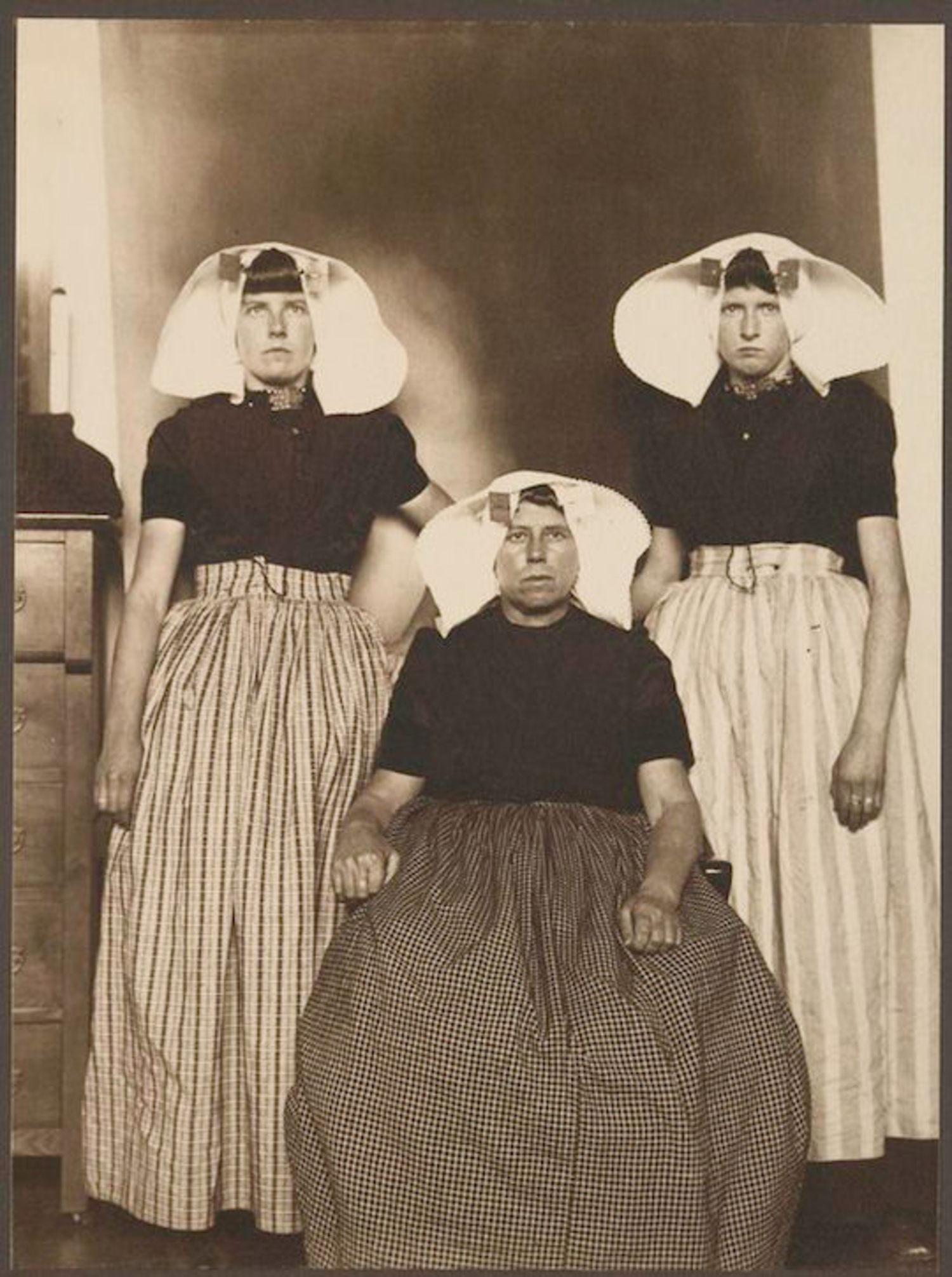 Three Dutch Women. Portraits for Ellis Island.