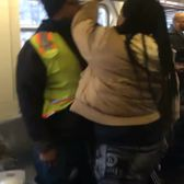 Husband pummeled in crazy subway brawl after wife spits at man