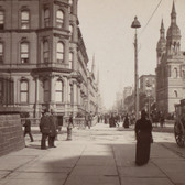 Fifth Avenue & 42nd Street circa 1897